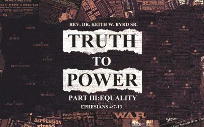 Being Truth To Power: Equality