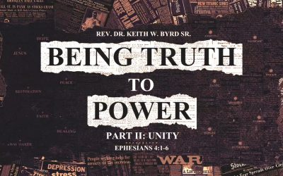 Being Truth To Power: Unity