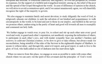 Church Bulletin Sunday, October 25, 2020