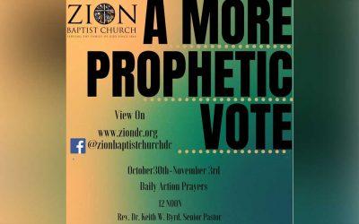 A More Prophetic Vote