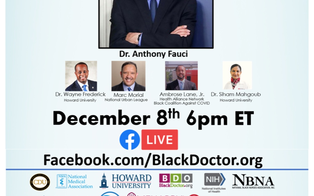 Making It Plan, A Conversation with Dr. Fauci and The Black Community